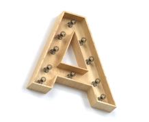 Объёмная буква — стиль РЕТРО