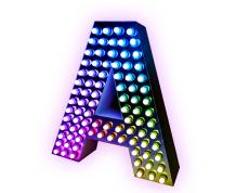 Объёмная буква — светодинамическая подсветка
